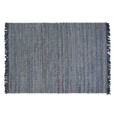 Besni Handwoven Gray Area Rug Size: 52 x 76