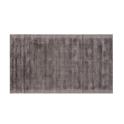 Gesi Handwoven Dark Gray Area Rug Rug Size: Rectangle 27 x 411