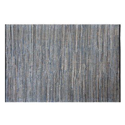 Talas Handwoven Navy Blue Area Rug Rug Size: Rectangle 53 x 77