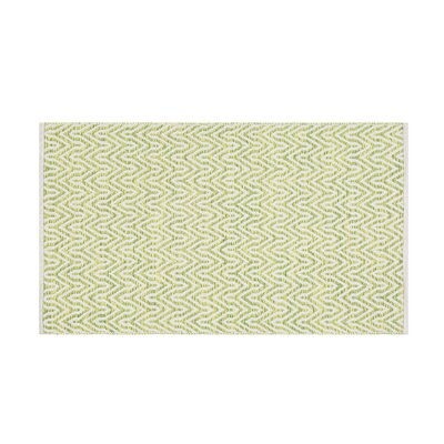 Malkara Handwoven Green Area Rug Rug size: Rectangle 27 x 411