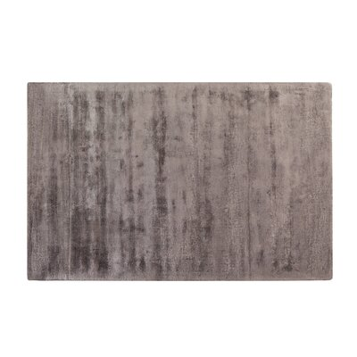 Gesi Handwoven Dark Gray Area Rug Rug Size: Rectangle 311 x 57