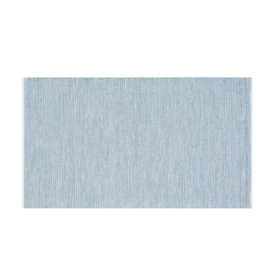 Derince Handwoven Light Blue Area Rug Size: 27 x 411