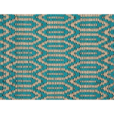 Silopi Handwoven Turquoise/Beige Area Rug Rug Size: Rectangle 27 x 411