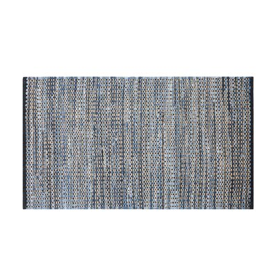 Talas Handwoven Navy Blue Area Rug Rug Size: Rectangle 27 x 411