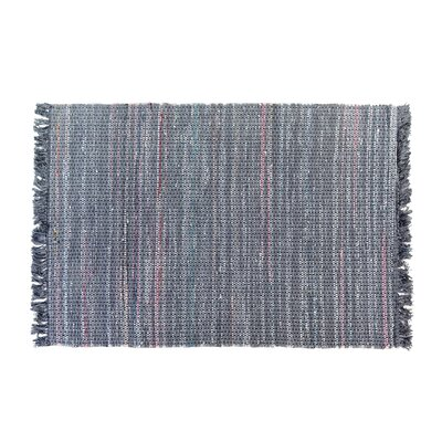 Besni Handwoven Gray Area Rug Size: 47 x 66