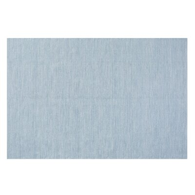 Derince Handwoven Light Blue Area Rug Size: 52 x 76