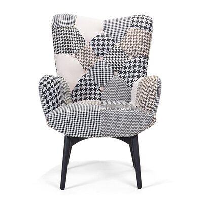 Vejle Lounge Chair with Stool