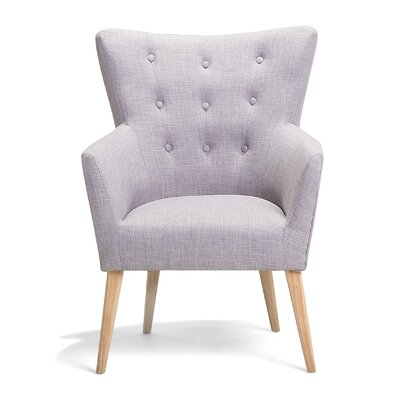 Angen Armchair Upholstery: Gray