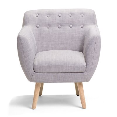 Melby Armchair Upholstery: Gray