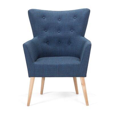 Angen Armchair Upholstery: Blue