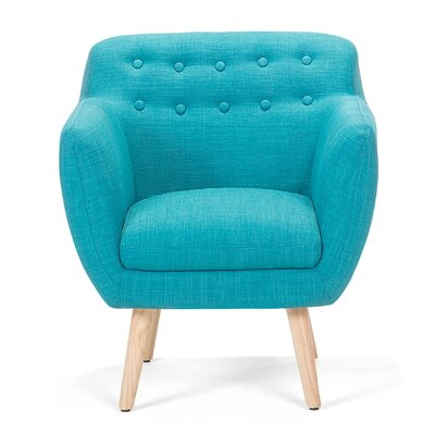 Melby Armchair Upholstery: Blue
