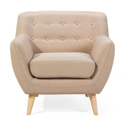 Tally Armchair Upholstery: Beige