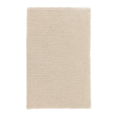 Edirne Hand-Tufted Ivory Area Rug Rug Size: Rectangle 53 x 77