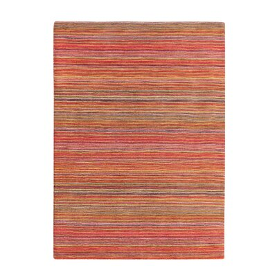 Niksar Hand-woven Wool Orange Area Rug Rug Size: Rectangle 311 x 57