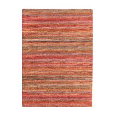 Niksar Hand-woven Wool Orange Area Rug Rug Size: Rectangle 311 x 57