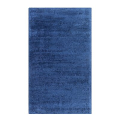 Gesi Handwoven Navy Blue Area Rug Rug Size: Rectangle 53 x 77