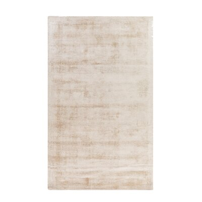 Gesi Handwoven Beige Area Rug Rug Size: Rectangle 27 x 411