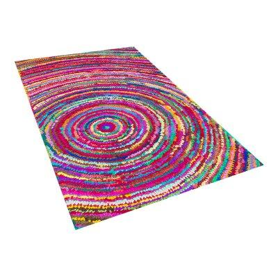 Malatya Pink Area Rug Size: 27 x 411