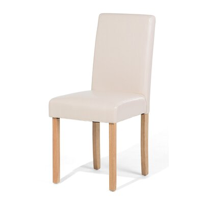 Broadway Dining Chair Color: Beige/Natural