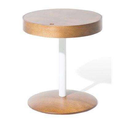 Oregon Side Table Color: Dark brown