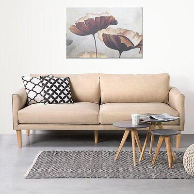 Uppsala 4 Seater Standard Sofa Upholstery: Beige