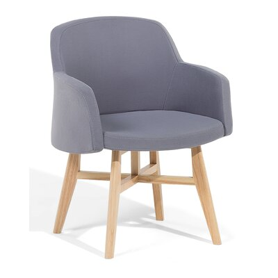 Ystad Armchair Upholstered: Gray
