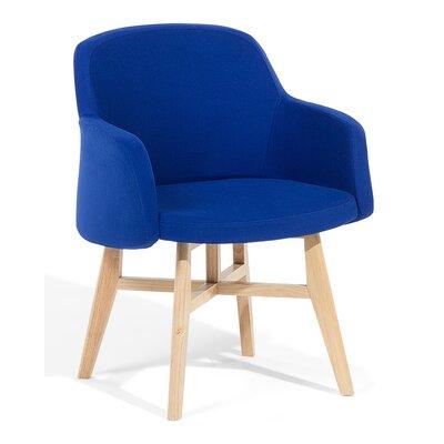 Ystad Armchair Upholstered: Dark blue