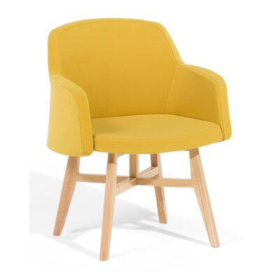Ystad Armchair Upholstered: Yellow