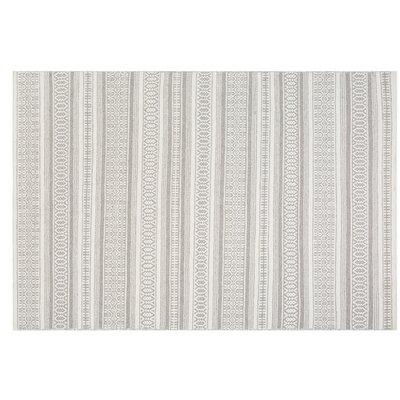 Payas Handwoven Wool Gray Area Rug Rug Size: Rectangle 53 x 77