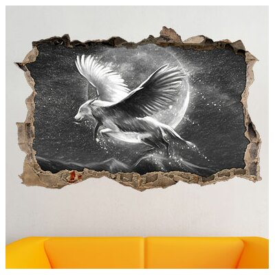 Wolf With Wings Wall Sticker 3899 Port