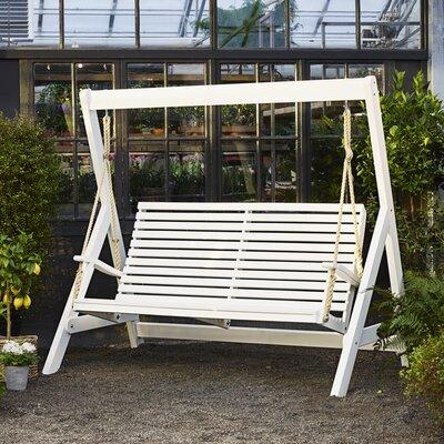 Hollywoodschaukel Marstrand mit Ständer | Garten > Gartenmöbel > Hollywoodschaukeln | Weiß | Home Loft Concept