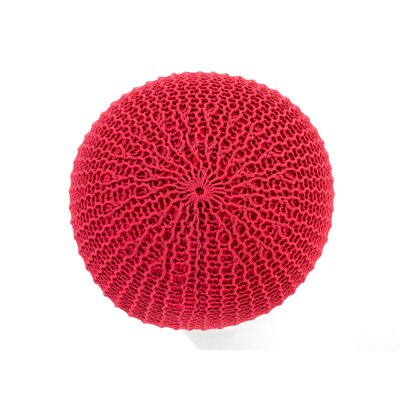 Conrad Pouf Color: Red