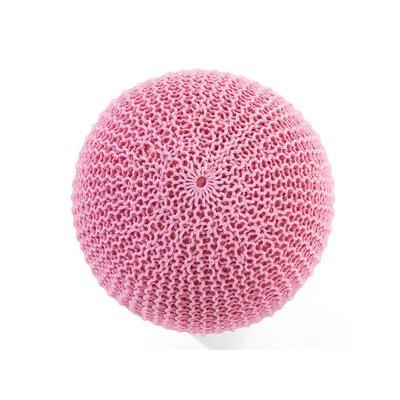 Conrad Pouffe Ottoman Color: Pink