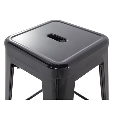 Cabrillo Bar Stool Color: Black