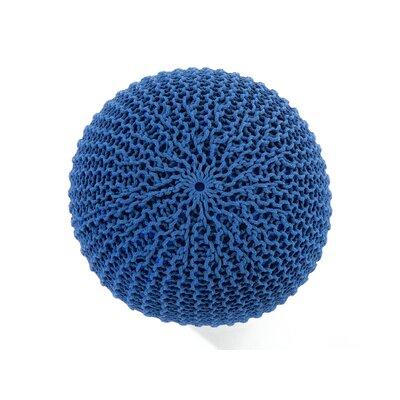 Conrad Pouffe Color: Dark Blue
