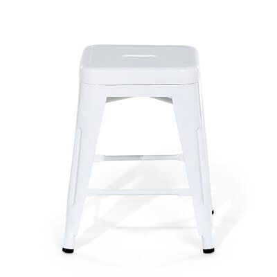 Cabrillo Bar Stool Color: White