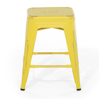 Cabrillo Bar Stool Color: Yellow/Golden