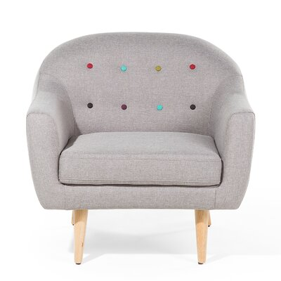 Gjovik Armchair Upholstery: Gray