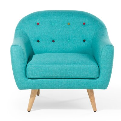 Gjovik Armchair Upholstery: Turquoise