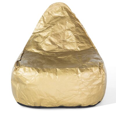 Drop Bean Bag Chair Upholstery: Golden