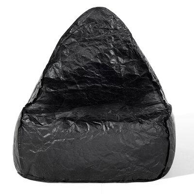 Drop Bean Bag Chair Upholstery: Black