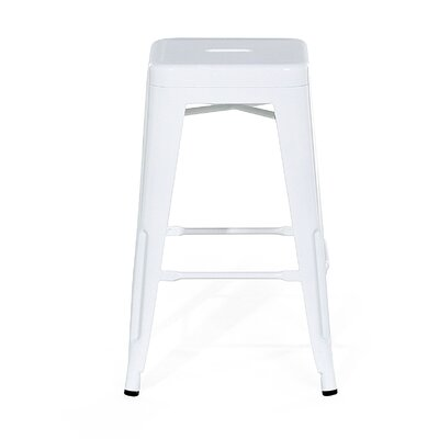 Cabrillo Bar Stool Color: White
