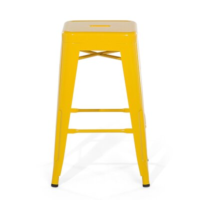 Cabrillo Bar Stool Color: Yellow