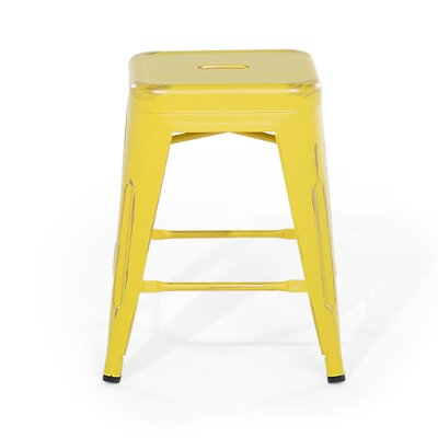 Cabrillo Bar Stool Color: Yellow/Gold