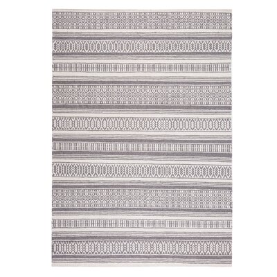 Payas Handwoven Dark Gray Area Rug Rug Size: Rectangle 47 x 67