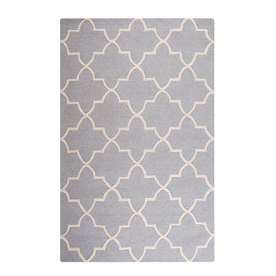 Silvan Hand-Tufted Gray Area Rug Rug Size: Rectangle 53 x 77