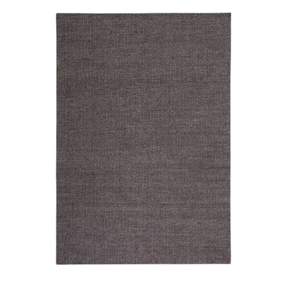 Saray II Handwoven Wool Brown Area Rug Rug Size: Rectangle 47 x 67