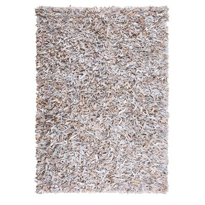 Mut Hand-woven Light Beige Area Rug Rug Size: Rectangle 47 x 66