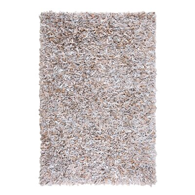 Mut Hand-woven Light Beige Area Rug Rug Size: Rectangle 52 x 76