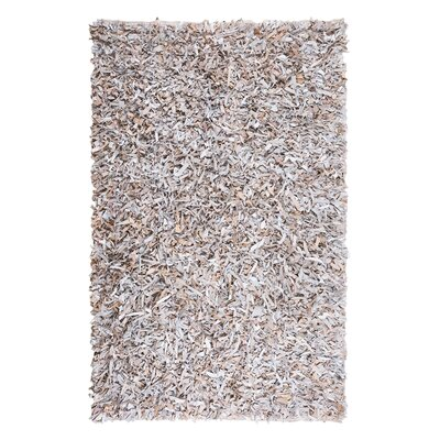 Mut Hand-woven Light Beige Area Rug Rug Size: Rectangle 27 x 411